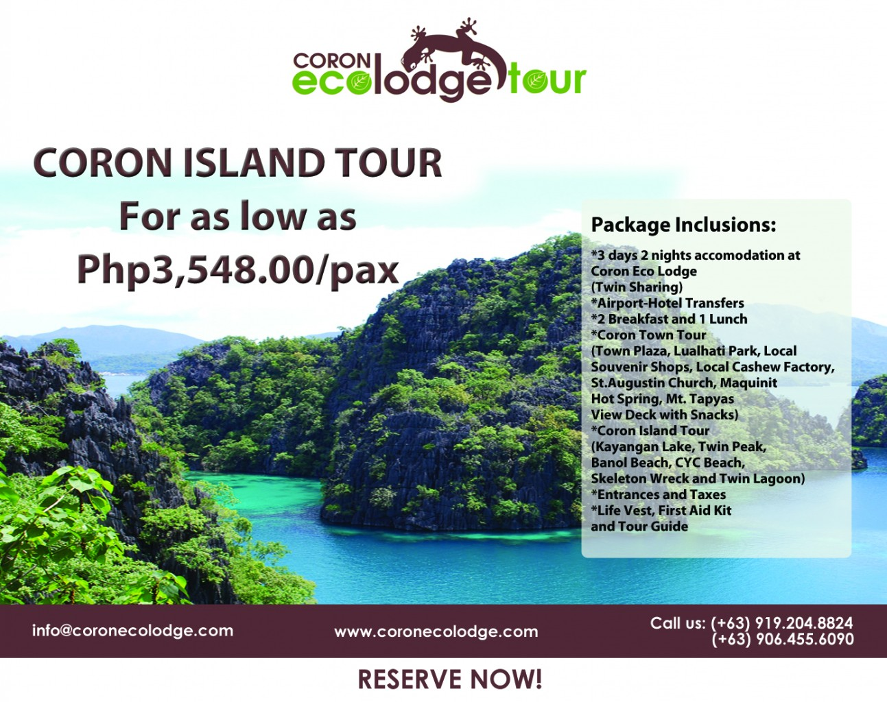 palawan island package tour